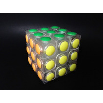 Cubo Rubick Moyu 3x3 Transparente Speedcube Alta Calidad