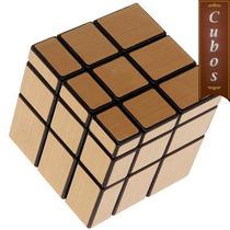 Cubo Shengshou Mirror Gold Dorado 3x3x3