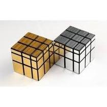 Cubo Rubik Shengshou Mirror 3x3 Plateado