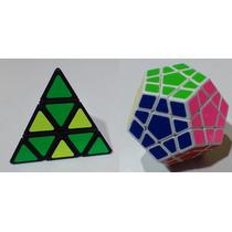 Cubos Rubik Combo Pyraminx Moyu, Megaminx Sheng Shou O Qj
