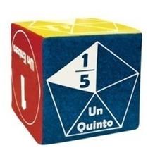 Cubo De Fracciones Material Didactico