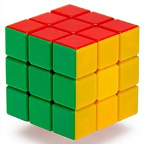 3 X 3 Stickerless 6-color Puzzle Cube Engineered For Speed ¿