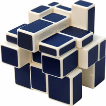 Cubo Rubik Espejo Mirror 3x3 Dorado Plateado Azul Lubricado