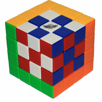 Cubo Rubik Cyclone Boys 4x4 Colored, Sin Stickers, Lubricado