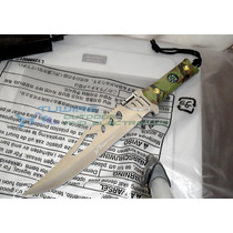 Cuchillo Tactico Militar M0543 Full Tang Funda Y Lampara Led
