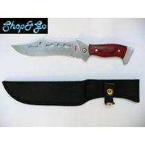 Envio Gratis Cuchillo D Monte, Acero Mod M8026 Full Tang