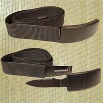 Cinto Tactico De Defensa Personal (cuchillo En Hebilla)