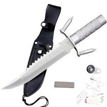 Cuchillo De Supervivencia Con Accesorios 37 Cms Hk-217ls