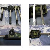 Kit Acampar Camping 4-1 Supervivencia Portatil Hacha Pala...