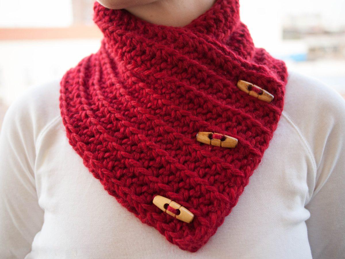 Cuellos Bufanda Unisex. Tejido A Mano Crochet. Más Modelos - $ 100.00 ...