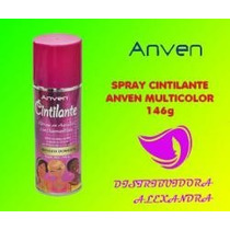 Spray Cintilante Anven Multicolor 146g