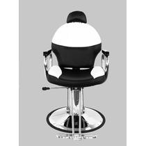 Silla Hidraulica Reclinable Estetica Salon Peluqueria Sillon