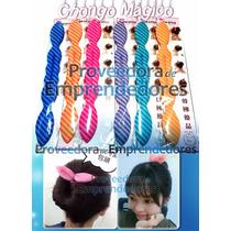 Chongo Magico De Colores Moda Coreana