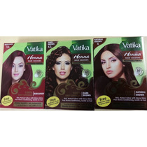 Tinte Natural Para El Cabello Henna, Vatika Hair Colours
