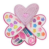 Corazón Petite Girls Cosméticos En Forma De Jugar Juego - Ki