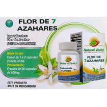 Flor De 7 Azahares En Cápsulas De Natural Vitality