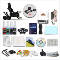 Kit Tatuar 1 Maquina Rotativa Dragon Fly Tattoo Tatuajes Ink