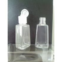 50 Botellas Para Gel Antibacterial Jabon O Crema Bautizos