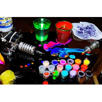 200 Tapitas Copitas Para Tinta Tatuajes Ink Cup Tattoo
