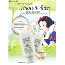 Snow White Milky Pack Coreana Aclarante Secret Key