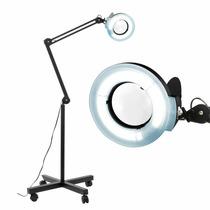 Lámpara Lupa Belleza Facial 5x Lupa Base Portátil