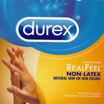 Durex Avanti Condon No Latex Sensacion Real P/ Alergicos Vbf