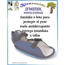 Zapato Para Yeso Proteccion