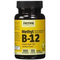 Jarrow Formulas Metil-b12, Sabor Limón, 1000mcg, 100 Pastill