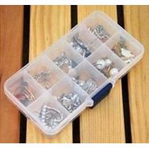 4 Caja Organizadora Pastillas Pastillero 10 Compartimentos