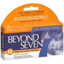 12 (doce) Condones Beyond Seven Preservativos