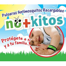 Pulseras Repelente Contra Mosquitos 100% Naturales, Dmm