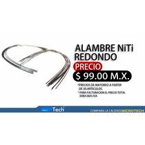 Alambre Redondo, Material Ortodoncia Dental