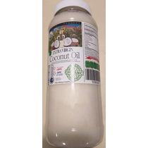 Aceite Coco Comestible Orgánico Exvirgen Prensado N Frío 1lt