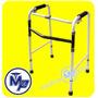 Andadera Plegable Aluminio - Altura Ajustable - Economica