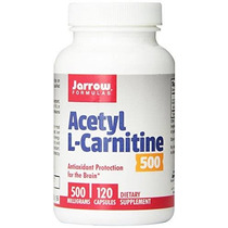 Jarrow Formulas Acetil L-carnitina 500 Mg Compatible Con Pro