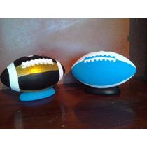 Recuerdos Balon De Futbol Americano Paq. 12 Pzas. Alcancias
