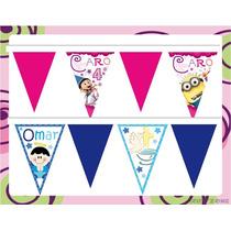Banderines Personalziados, Decoracion, Fiestas, Piñatas