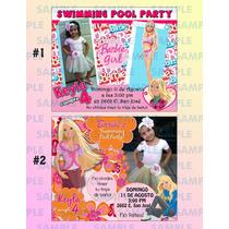 Invitaciones De Barbie-barbie-fotoinvitaciones