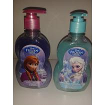 Fiesta Frozen Disney Jabon Liquido Para Manos! Navidad