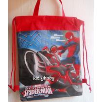 Morral-mochila, Dulcero, Fiesta De Spiderman