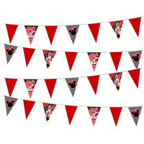 Banderines Minnie Mouse Mimi Para Fiesta Infantil En Oferta!