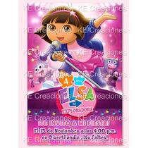 Kit Imprimible Dora La Exploradora Cumpleaños Invitaciones