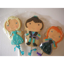 Frozen Galletas Decoradas Kit Para Centro De Mesa Dulceros