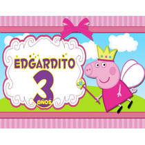 Dulceros Bolos Recuerdos Peppa Pig, George Aguinaldos $18