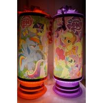 My Little Pony Recuerdos Centros De Mesa Lamparas 1 Regalo