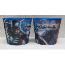Fiesta Capitan America Avengers Palomeros 3d Como Recuerdo
