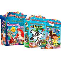 10 Invitaciones Personalizadas Cajitas Tipo Cereal