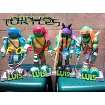 Centros D Mesa,fofuchas,cumpleaños,fiestas,tortugas Ninja Y+