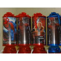 Spiderman Centros De Mesa,recuerdos, Lamparas 1regalo