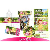 Invitaciones La Bella 1kit Imprimible Personalizado Vv4
